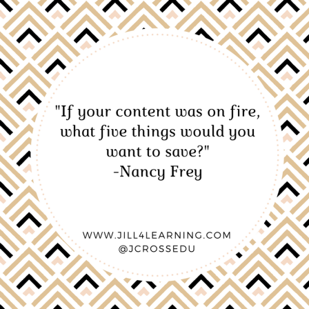 -If your content was on fire, what five things would you want to save---Nancy Frey (1).png